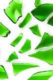 Vidrio verde Foto de archivo
