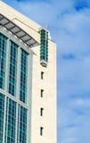 Vidrio verde del edificio moderno Fotografía de archivo libre de regalías