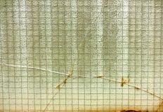 Vidrio viejo en el balcón 2 Fotos de archivo