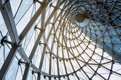 Vidrio y acero Imagen de archivo