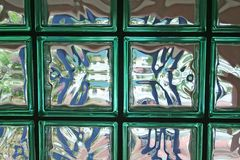 Vidrio y luz Imágenes de archivo libres de regalías