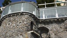 Vidrio y piedra Fotografía de archivo libre de regalías