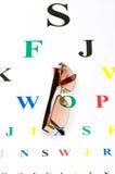 Vidrios ópticos Foto de archivo