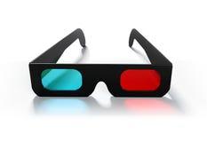 vidrios 3D Imagen de archivo libre de regalías