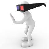 vidrios 3D Fotos de archivo