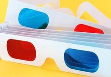vidrios 3D. Fotografía de archivo libre de regalías