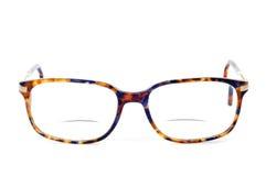 Vidrios bifocales Foto de archivo
