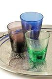 Vidrios coloreados Fotografía de archivo