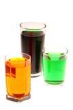 Vidrios coloridos Imagenes de archivo