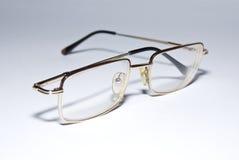 Vidrios con rectangular de cristal Fotografía de archivo