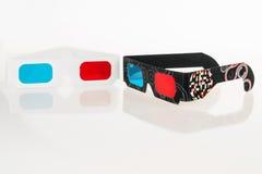 vidrios 3D Fotografía de archivo libre de regalías