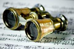 Vidrios de ópera Foto de archivo