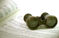 Vidrios de ópera fotos de archivo libres de regalías