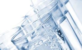 Vidrios de agua Imágenes de archivo libres de regalías
