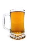 Vidrios de cerveza aislados Foto de archivo libre de regalías