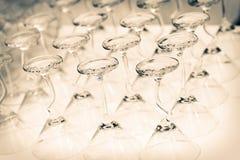 Vidrios de coctel Imagen de archivo libre de regalías