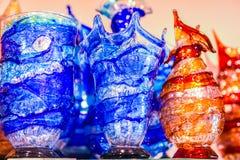 Vidrios de consumición de Murano Imagenes de archivo