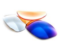 Vidrios de gafas de sol fotos de archivo