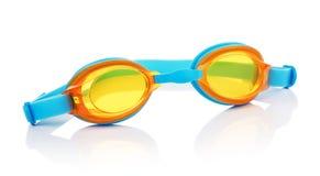 Vidrios de la natación Imágenes de archivo libres de regalías