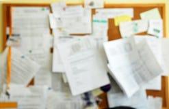 Vidrios de la necesidad - tarjeta del recordatorio de la falta de definición Foto de archivo libre de regalías