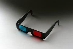 vidrios de la película 3D Fotografía de archivo
