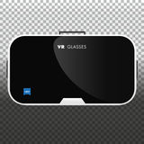 Vidrios de la realidad virtual Tecnología de VR Ilustración del vector Fotos de archivo libres de regalías