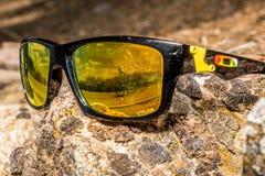 Vidrios de la roca en el sol Fotografía de archivo