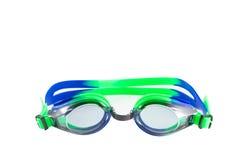 Vidrios de las gafas aislados en el fondo blanco Imagen de archivo