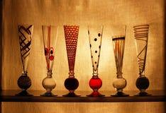 Vidrios de los colores primarios Imagen de archivo libre de regalías