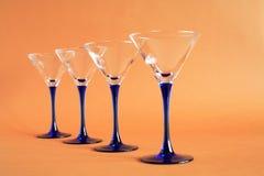 Vidrios de Martini Fotos de archivo libres de regalías