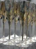 Vidrios de oro Imagen de archivo libre de regalías