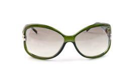Vidrios de sol verdes aislados Fotografía de archivo libre de regalías