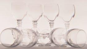 Vidrios de vino Foto de archivo
