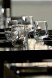 Vidrios de vino sin pie foto de archivo
