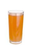 Vidrios de zumo de fruta de las manzanas Imágenes de archivo libres de regalías