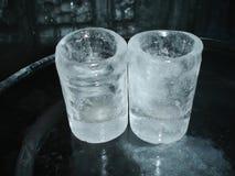 Vidrios del hielo Imágenes de archivo libres de regalías