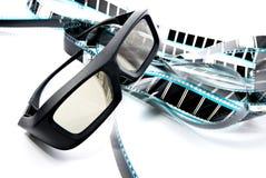 vidrios del obturador 3D Fotografía de archivo