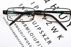 Vidrios del ojo Fotografía de archivo libre de regalías