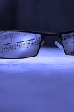 Vidrios del ojo imagen de archivo