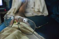 Vidrios del papá foto de archivo libre de regalías