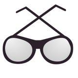 Vidrios deportivos negros de un estilo Fotografía de archivo