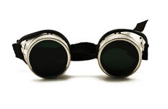 Vidrios eyewear protectores metálicos brillantes Fotografía de archivo