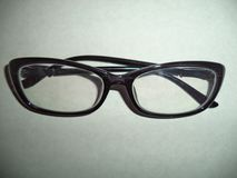 vidrios Negro-bordeados fotos de archivo