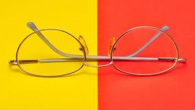 Vidrios para los ojos Imagen de archivo libre de regalías