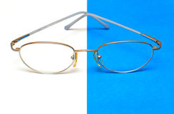 Vidrios para los ojos Fotografía de archivo libre de regalías