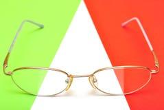 Vidrios para los ojos Imágenes de archivo libres de regalías