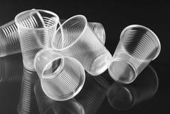 Vidrios plásticos Fotos de archivo