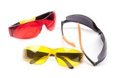 Vidrios protectores coloridos Imagen de archivo
