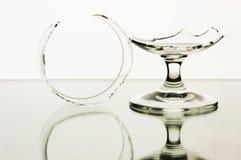 Vidrios quebrados Foto de archivo libre de regalías