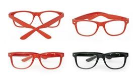 Vidrios rojos Imagen de archivo